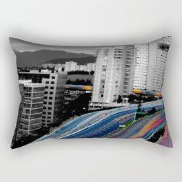 Desde arriba Rectangular Pillow