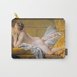 Nude on sofa (Miss O Murphy) - Francois Boucher (1703-1770) Carry-All Pouch