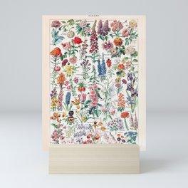 Adolphe Millot - Fleurs pour tous - French vintage poster Mini Art Print