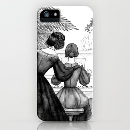 Inktober2016: Socialite witch iPhone Case