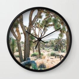 Joshua Trees Wall Clock