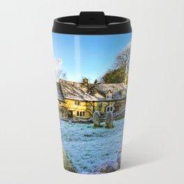 Beyond the church wall. Travel Mug