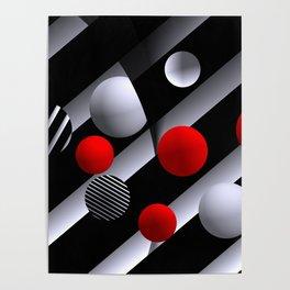 opart balls -3- Poster