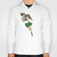 sailor jupiter Hoodies featuring Sailor Jupiter by Neal Julian