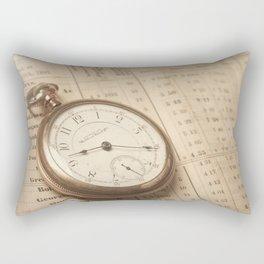 Time Traveler Rectangular Pillow