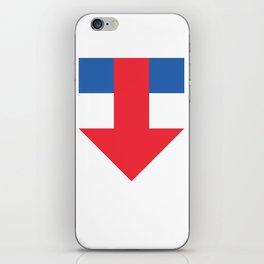 Dump him! iPhone Skin