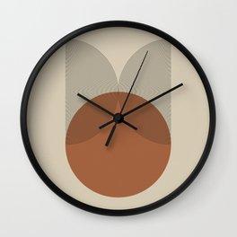 Geometric Composition IV Wall Clock
