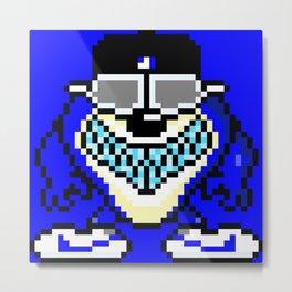 Taz Blue Devil Metal Print