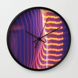Abstract Eye Wall Clock