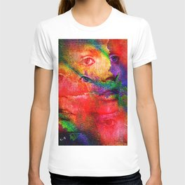 """"""" The life is a mirror which reflects the faces at which look """" T-shirt"""
