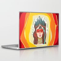 third eye Laptop & iPad Skins featuring third eye by ivette mancilla