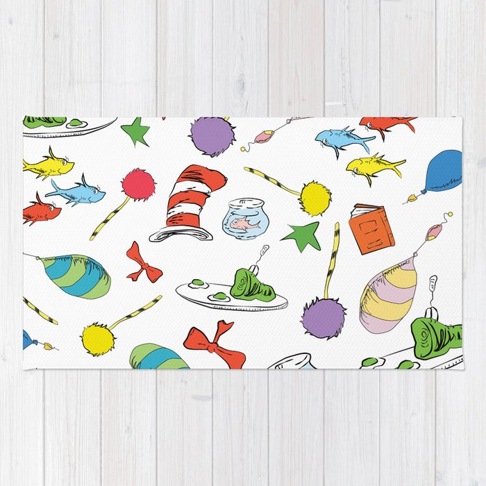 Ideal dr seuss pattern.. cat in the hat, lorax, oh the places you'll go  YI65