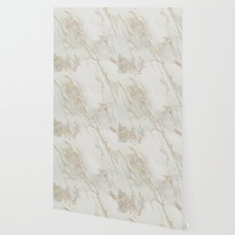 Marble Love Bronze Metallic Wallpaper