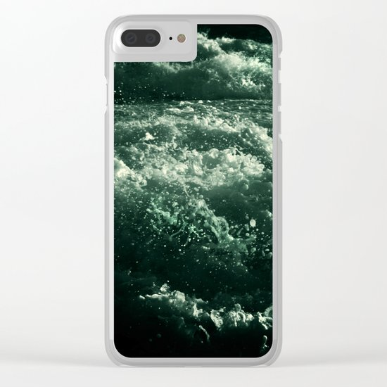*sea* Clear iPhone Case