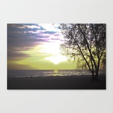 Sunset of Our Minds Canvas Print