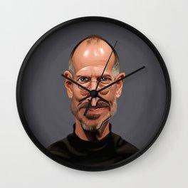 Celebrity Sunday ~ Steve Jobs Wall Clock