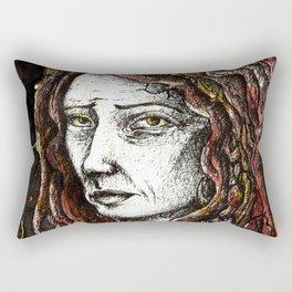Goodbye November Rectangular Pillow