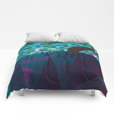 Adventure over the mountain Comforters