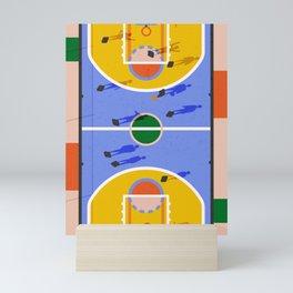 Hoops Mini Art Print