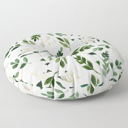 Magnolia Tree Floor Pillow