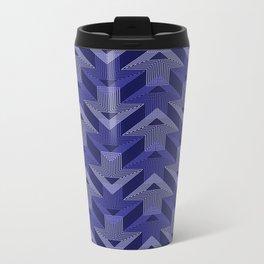 Op Art 99 Metal Travel Mug