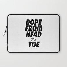 Dope Head 2 Toe Laptop Sleeve