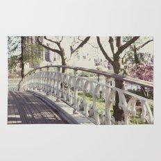 the bridge:: nyc Rug
