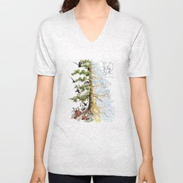 The Woods and The Water Unisex V-Neck