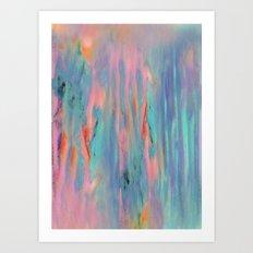 Pastel Powder Art Print