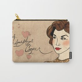 TWIN PEAKS Audrey Horne Loves Dale Cooper Carry-All Pouch
