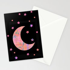 Tribal Moon Stationery Cards