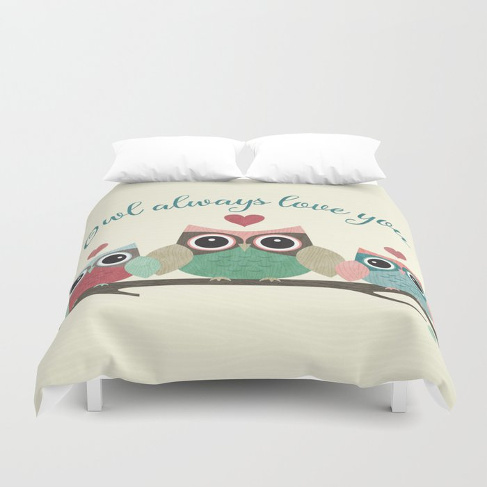 Owl Always Love You Duvet Cover