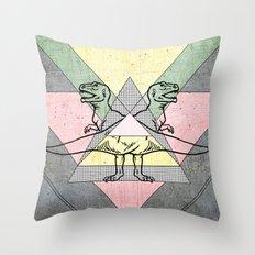 siamo tyrex Throw Pillow
