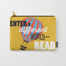 Different World - Just Read Carry-All Pouch