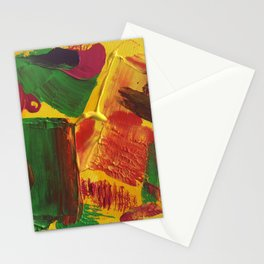 """Abstract """"Hot Summer"""" Stationery Cards"""