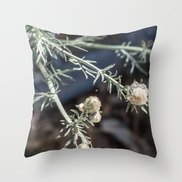 small buds Throw Pillow