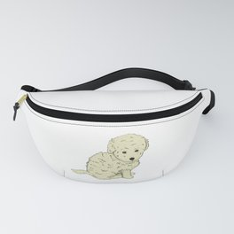 Puppy like a plush toy  Fanny Pack