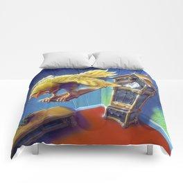 The Cuckoo Clock of Doom Comforters