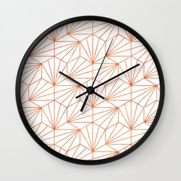 Rose Gold & White #society6 #decor #buyart Wall Clock