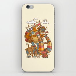 Circusbot iPhone Skin