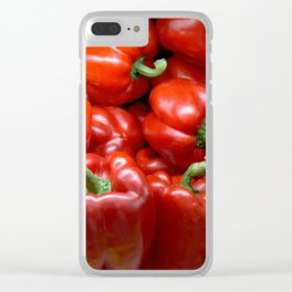Tomato Clear iPhone Case
