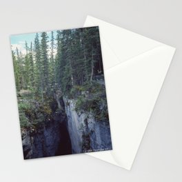 Maligne Canyon 4 Stationery Cards