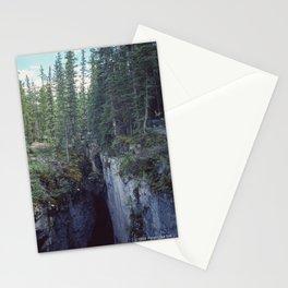 Maligne Canyon 4 Stationery Cards