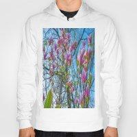 magnolia Hoodies featuring Magnolia by Ricarda Balistreri