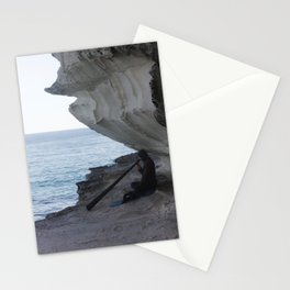 Finding Peace with Music Stationery Cards