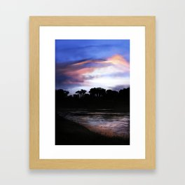 Essex River Framed Art Print