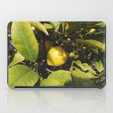 just another lemon tree iPad Case