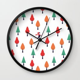 Little Red Ridding Hood Wall Clock