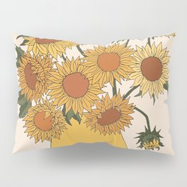 Van Gogh Sunflowers Pillow Sham