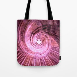 Sand stone spiral staircase Tote Bag